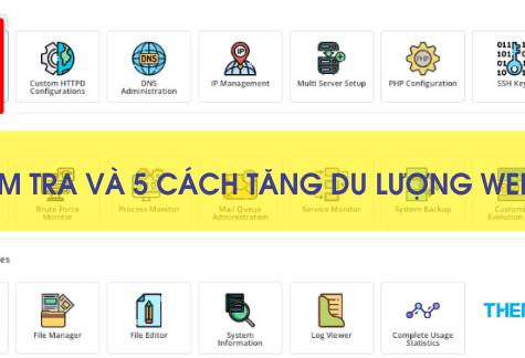 dung luong website
