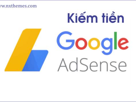 Kiếm tiền Google Adsense